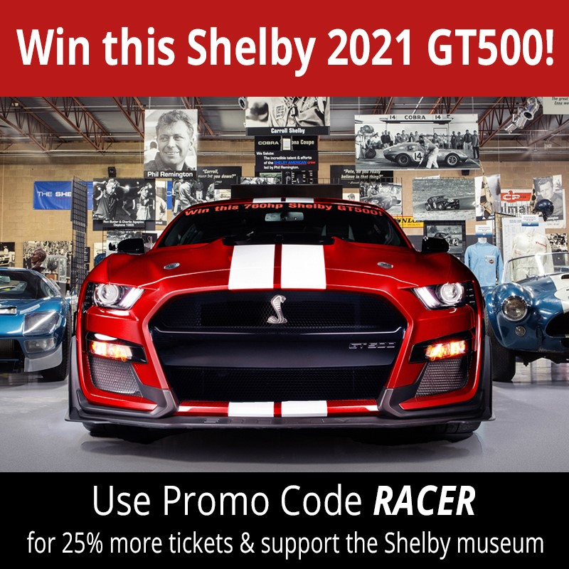 Win a Shelby GT500
