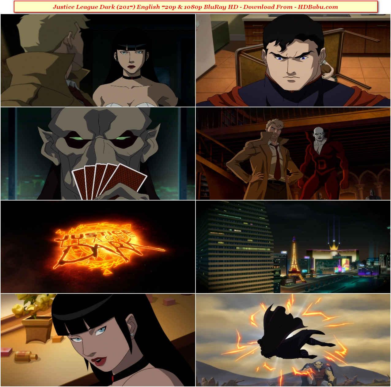 Justice League Dark Full Movie Download