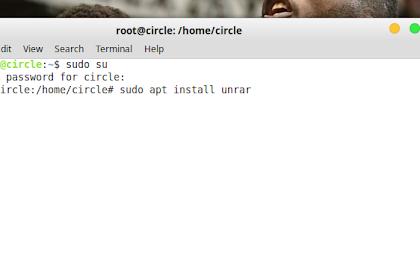 Mengatasi Error Saat Ekstrak File .rar di Linux Mint 19 Cinnamon
