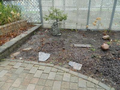 Summerhill Toronto New Front Shade Garden Makeover Before by Paul Jung--a Toronto Organic Gardener