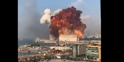 Beirut explosion Today