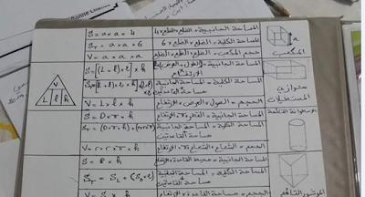 مجموعة من قواعد مهمة في مادة الرياضيات للتعليم الابتدائي