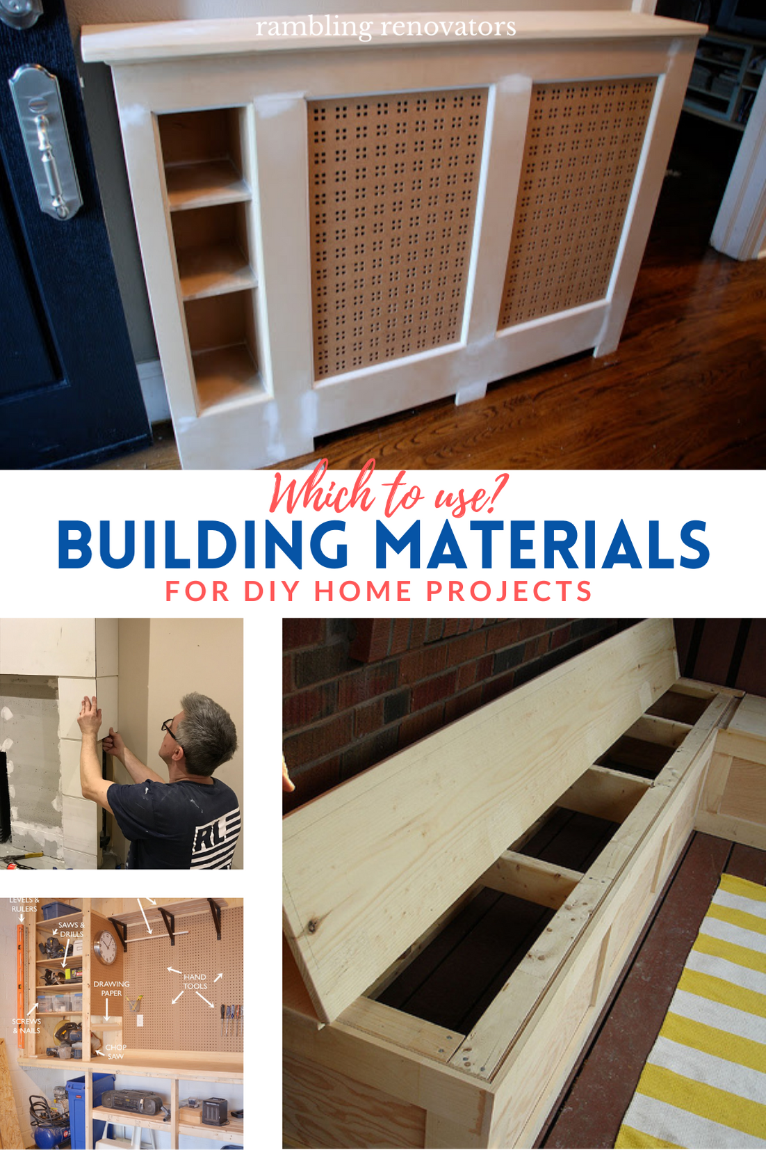 diy building, composite materials, diy home projects