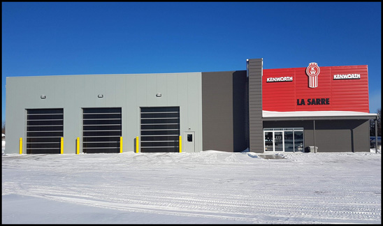 Kenworth La Sarre New Dealership Facility