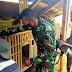 Satgas TMMD Karanganyar Kunjungi Peternak Ayam Bangkok