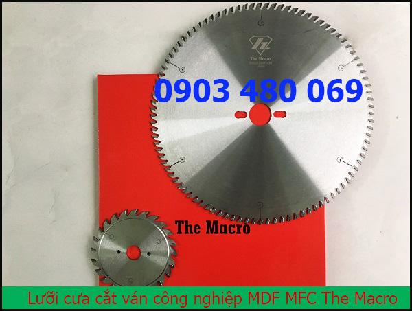 Lưỡi cưa cắt ván công nghiệp The macro 300x96T