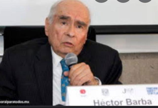 Falleció el abogado laborista Héctor Barba García