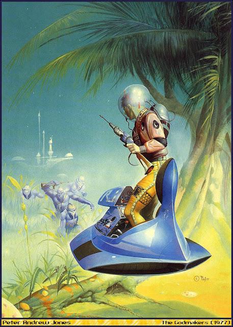 Challenge of the Unknown (Perry Rhodan 32), por Clark Dalton – portada de Peter Andrew Jones