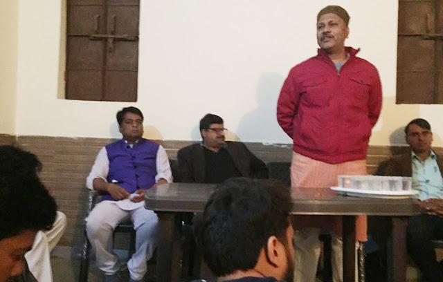 Rashtriya Swayamsevak Sangh Sangh, Balbaghad celebrated Sant Ravidas Jayanti, message of given social harmony