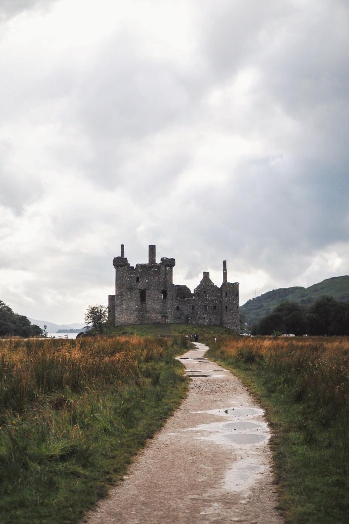 Château de Kilchurn en Ecosse