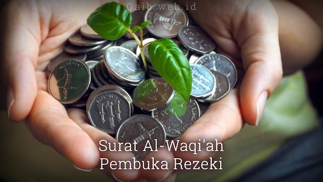 Surat Al-Waqiah Pembuka Rezeki