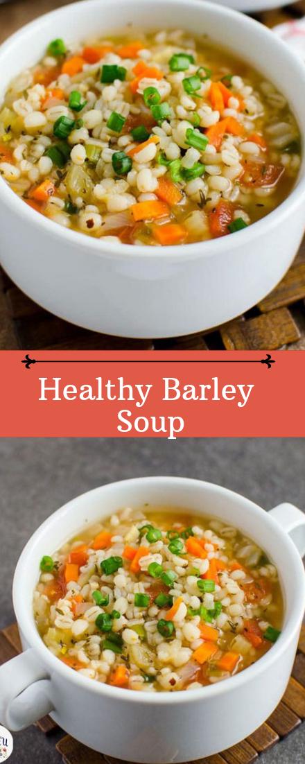 Barley Soup #healthyfood #dietketo