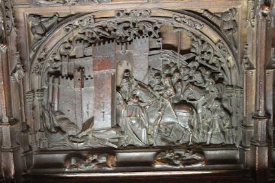 Tallas con la conquista de Granada