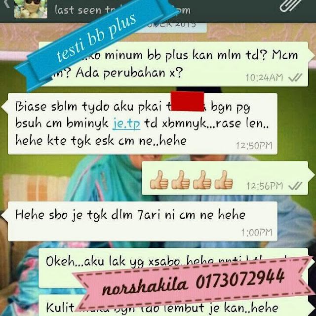 BBplus collagen testimonial Januari 4