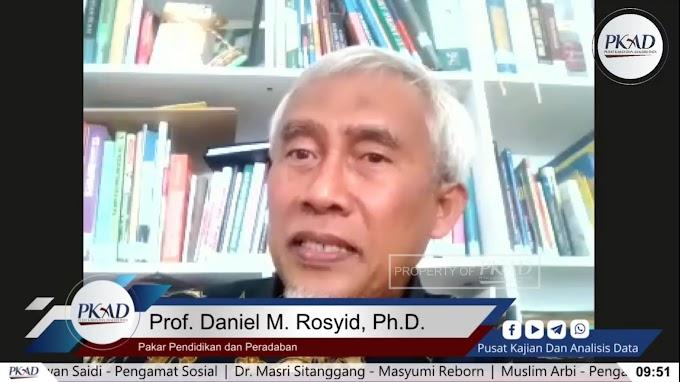 pakar Pendidikan dan Peradaban Islam, Prof. Daniel M. Rosyid menegaskan dugaan kebangkitan neo komunisme di Indonesia.