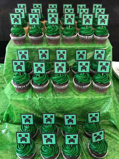 graphic relating to Printable Minecraft Cupcake Toppers identify Fab Day-to-day Given that Day by day Daily life Must be Amazing