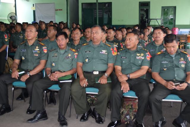 KodimKaranganyar - Apel Danramil dan Babinsa Tersebar 2019 Dandim Tekankan Anggota Wajib Berolahraga