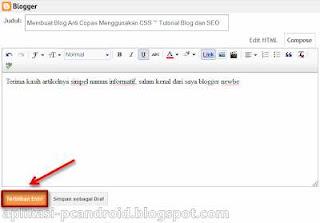 Membuat Blog Anti Copas Menggunakan CSS