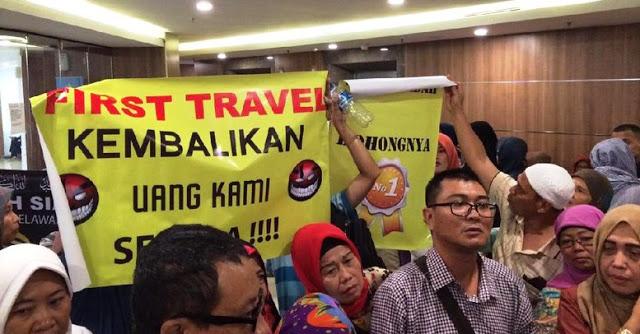 Aset First Travel yang Disita Polisi Belum Bisa Dibagikan ke Nasabah