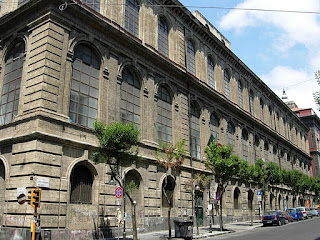 The Accademia di Belle Arti in Naples