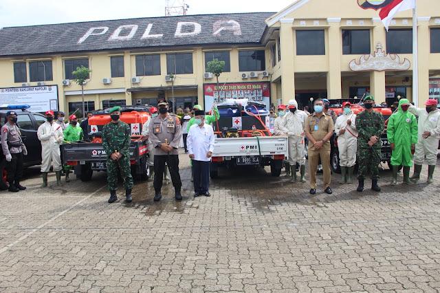 Polda Lampung terima penghargaan dari PMI