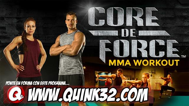 Core de Force MMA Workout | Ejercicios Adelgazar | Serie Completa