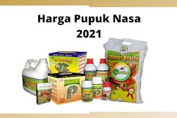 Harga Pupuk Nasa 2021