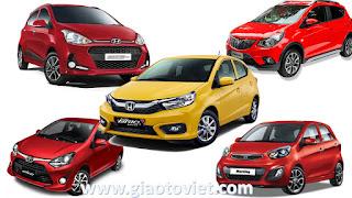 So sánh Honda Brio và Wigo, Fadil