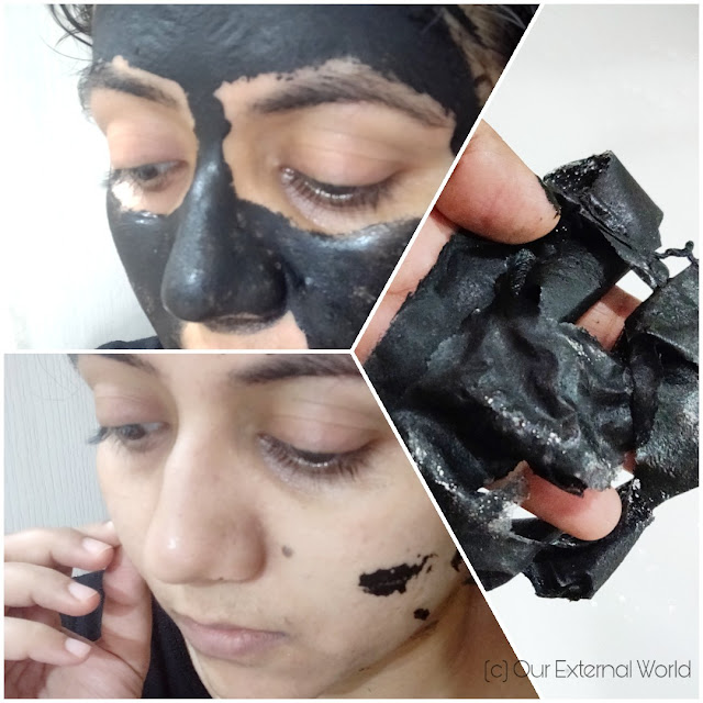 POSITIVE 3 in 1 Charcoal Deep Clean Face Mask swatches
