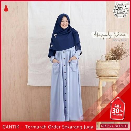 Jual RRJ174S143 Set Happyly Syari Wanita Mc Terbaru Trendy BMGShop