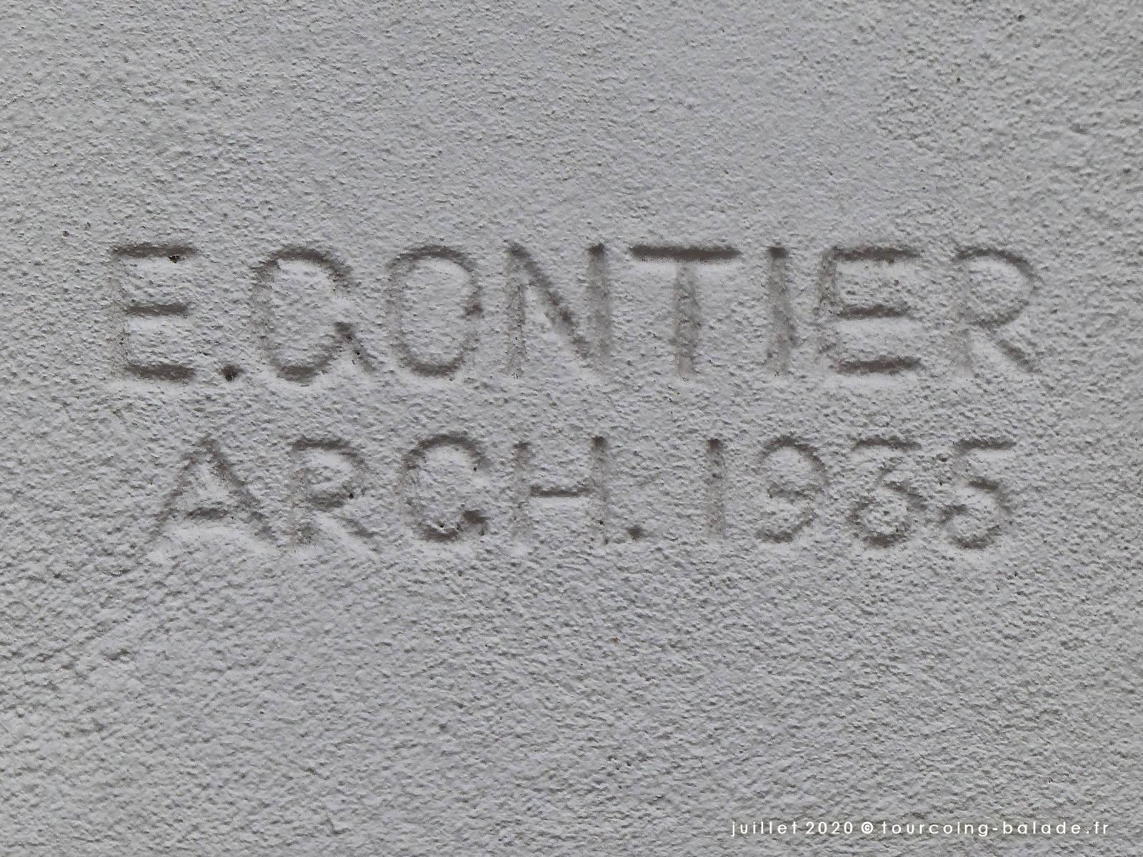 E. Gontier Architecte, 1935