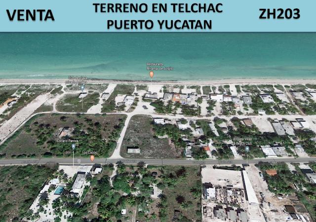 Gran oportunidad de inversion en la costa de Yucatan Mexico