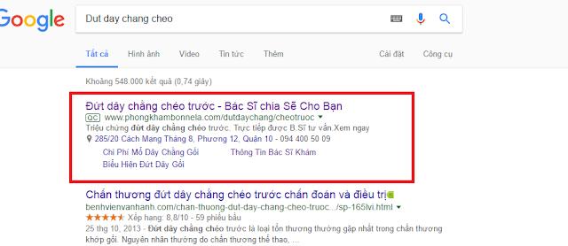Tìm kiếm khách hàng qua Google