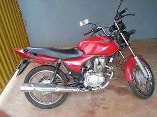 Jovem de 19 anos é preso com moto roubada em Cacimba de Dentro, na PB