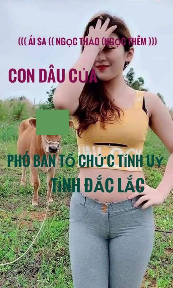 Lời xin lỗi tỉnh ủy Đăk Lăk