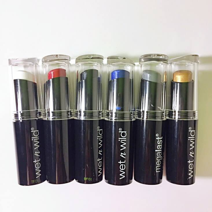 wet n wild Fantasy Makers megalast Lip Colors
