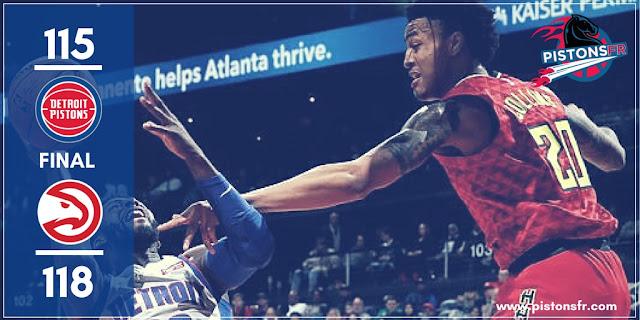 Résumé du match Pistons-Hawks | PistonsFR, actualité des Detroit Pistons en France