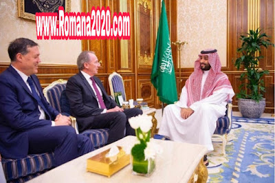 أخبار السعودية ولي العهد الأمير محمد بن سلمان يلتقي رئيس مجلس إدارة بنك مورغان ستانلي