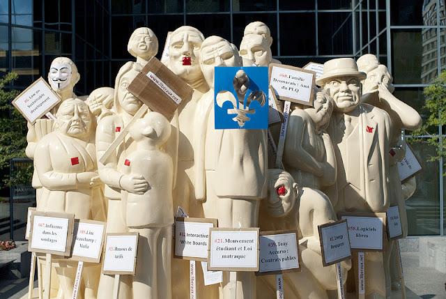 Manifestation du 22 juillet 2012, Montréal [photos David Champagne]