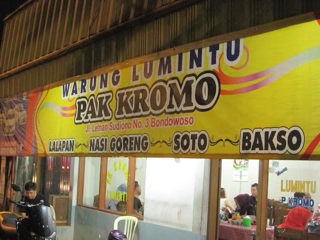 Depot Lumintu;10 Top Kuliner Bondowoso