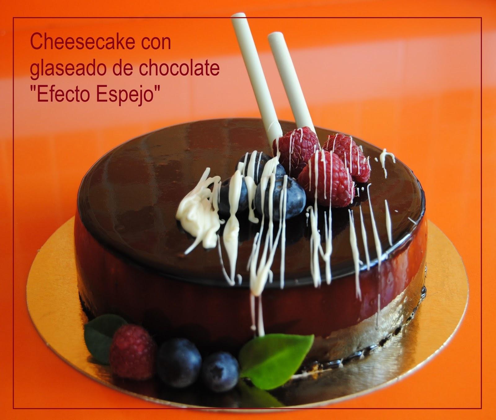 Recetas para un domingo glaseado de chocolate efecto espejo - Pintaunas efecto espejo ...