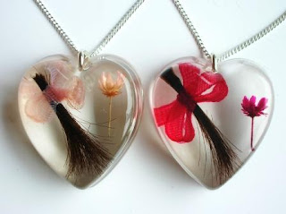 Keepsake Jewellery for a Lock of Hair