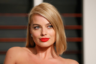 Margot Robbie Smiling, Face, Wallpaper
