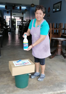 bantuan mangsa banjir johor dari clorox dan mercy malaysia