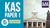 KAS Paper 1 Question Paper and Answer key  | Kerala Administrative Service
