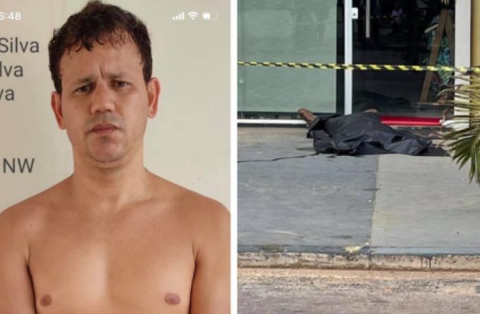 """Homem que foi filmado matando vilhenense a facadas em MT confessa que motivo do crime foi traição: """"o que eu fiz está feito"""""""