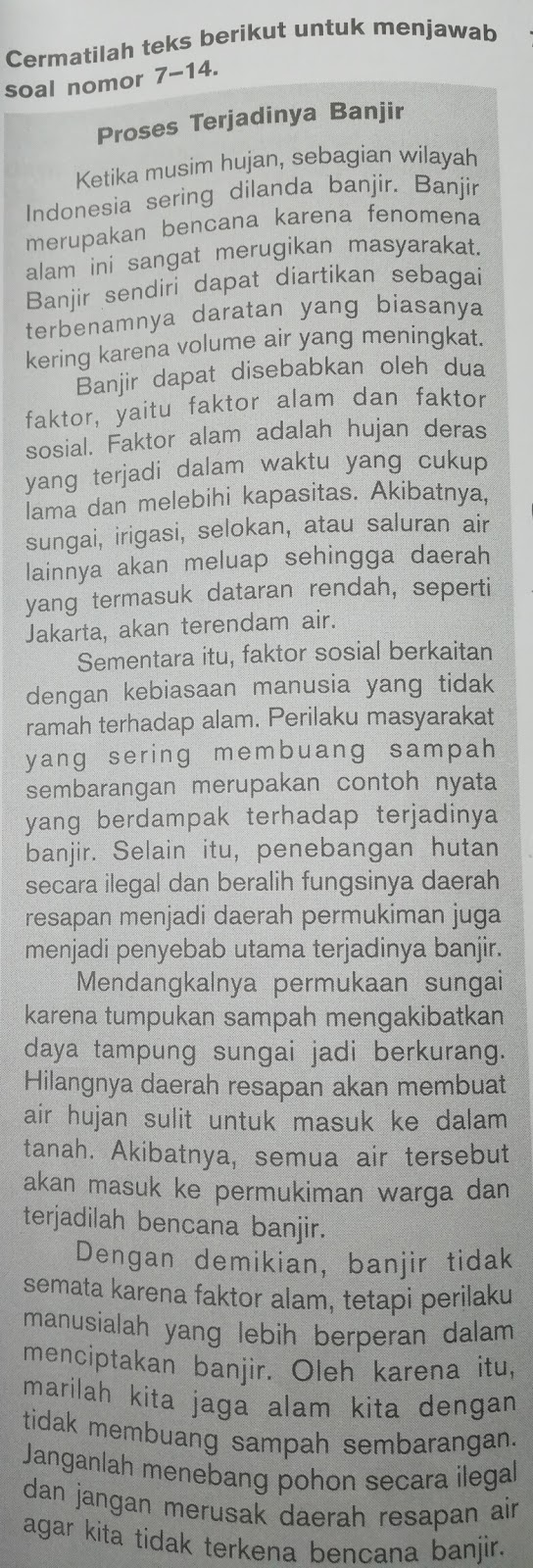 KUNCI JAWABAN MANDIRI BAHASA INDONESIA BAB 3 KELAS 11 ...