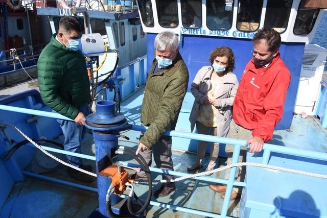 Pescadores podrán acceder a desaladoras de agua