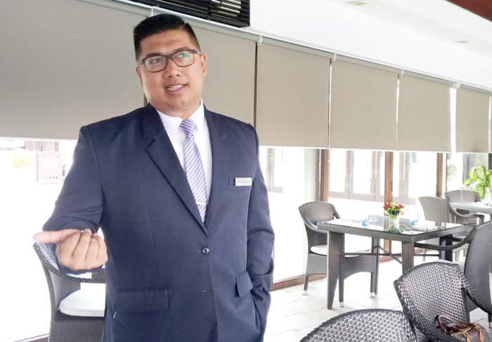 Mr. Rene Gargallo, Marco Polo Davao Restaurant, Bar & Events (RBE) Manager