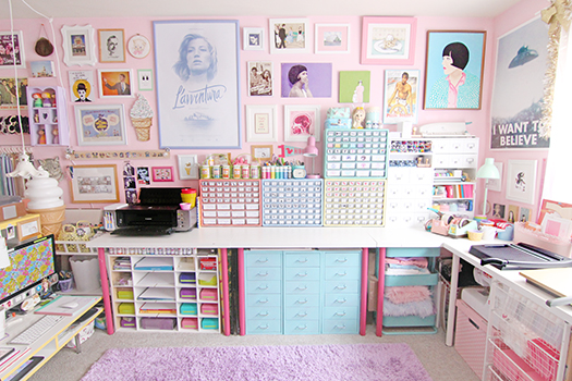 Scathingly Brilliant: room tour - my office